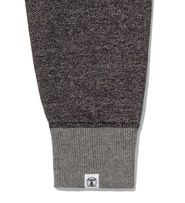 Hombre Nino Charcoal Reversible Sweater