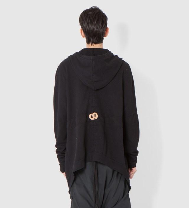 SILENT DAMIR DOMA Black Tarz Oversized Zipped Jacket