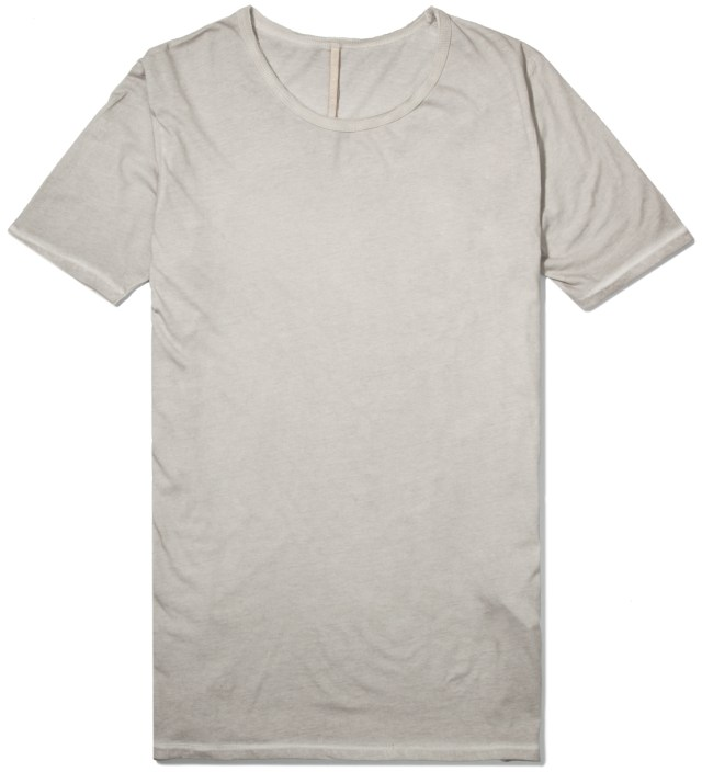 SILENT DAMIR DOMA Light Grey Toten Basic T-Shirt