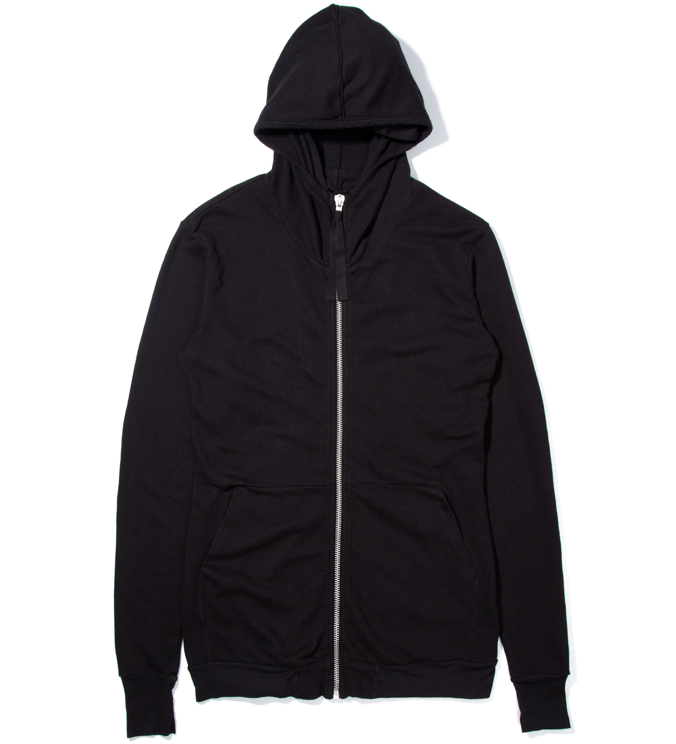 SILENT DAMIR DOMA Black Tribal Basic Zip Hoody