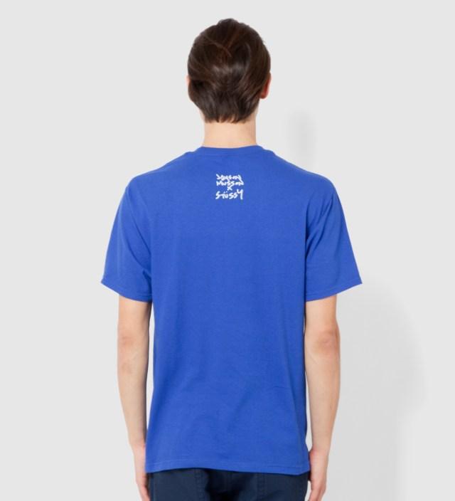 Stussy Royal Blue Handrail T-Shirt