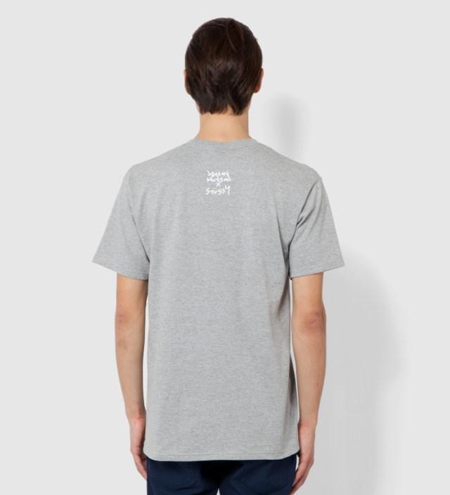 Stussy Heather Grey Handrail T-Shirt
