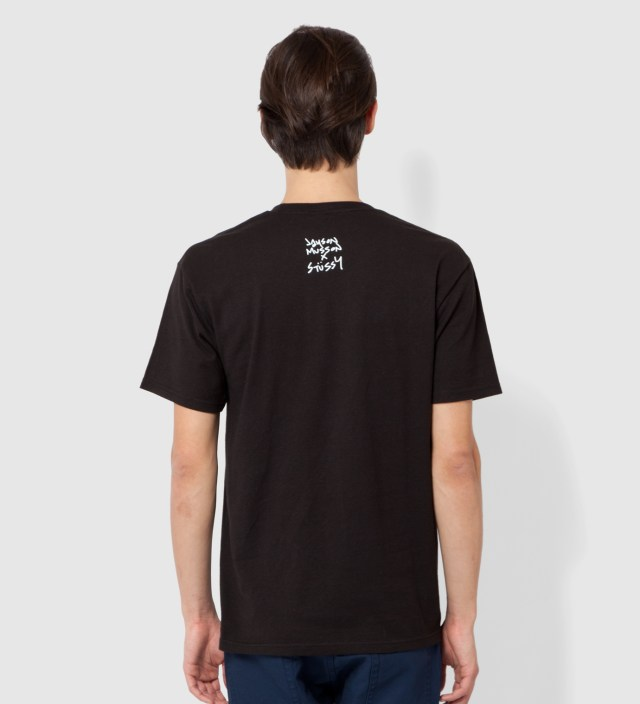 Stussy Black Skateboard Stack T-Shirt