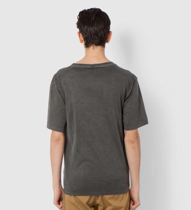 UNUSED Fade Black Damaged T-Shirt