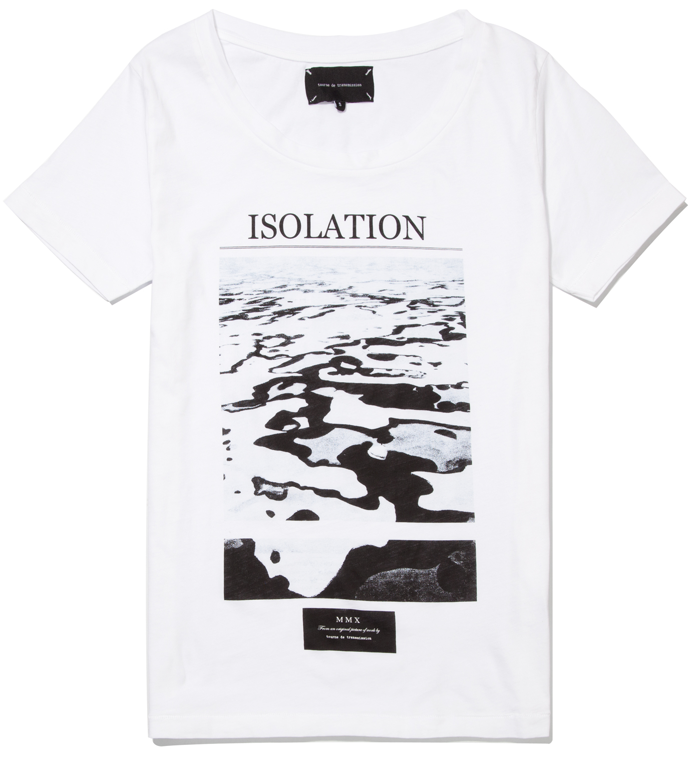 Tourne de Transmission White isolation Classic T- Shirt