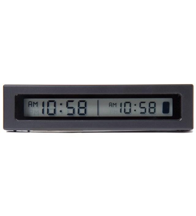 Carhartt WORK IN PROGRESS Black Jetlag Travel Alarm Clock