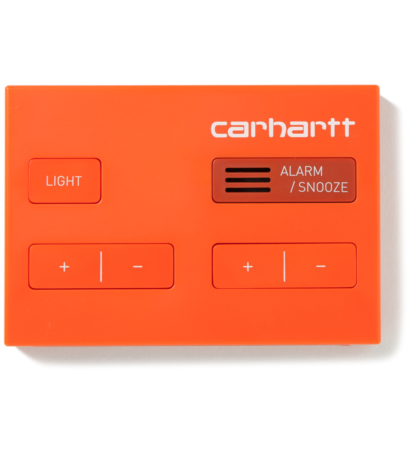 Carhartt Work In Progress Red Jetlag Travel Alarm Clock