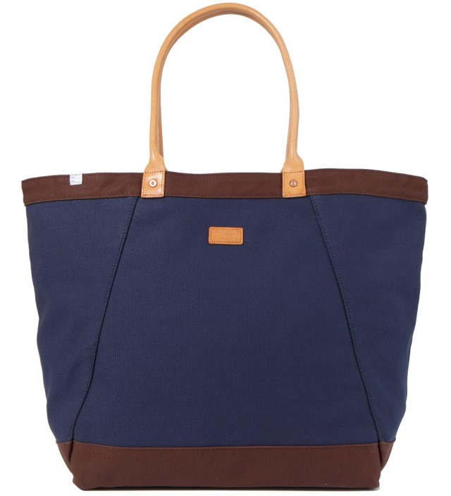 DELUXE Navy Wagon Tote Bag
