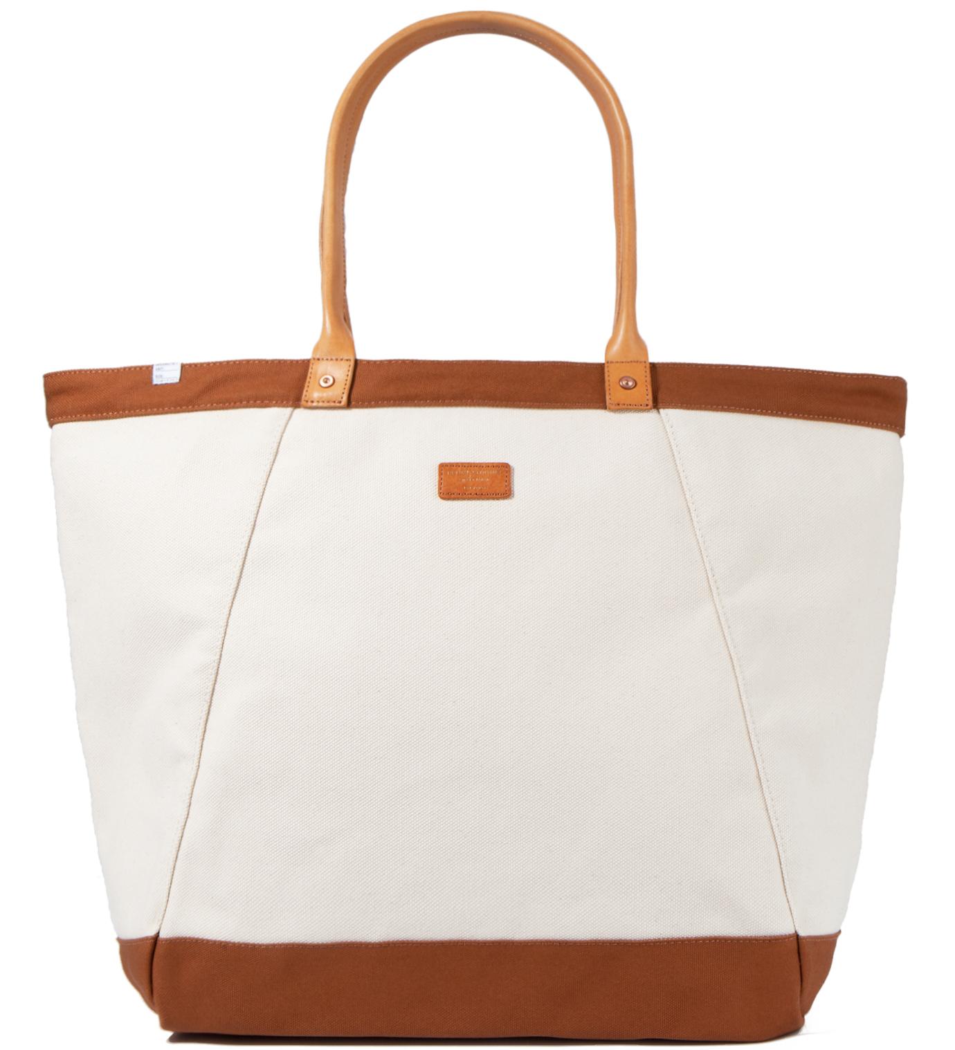 DELUXE White Wagon Tote Bag