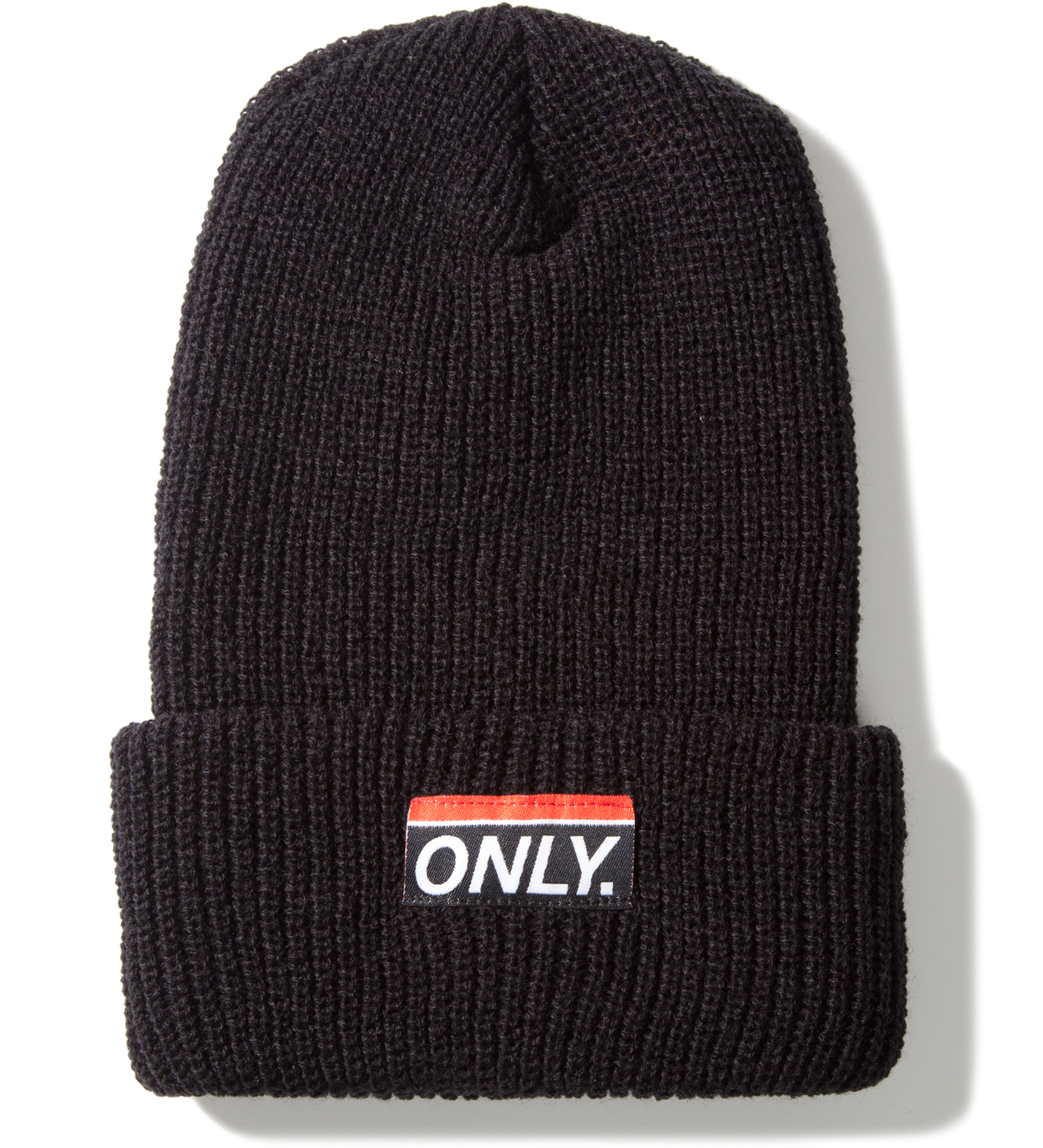 ONLY NY Black Subway Beanie