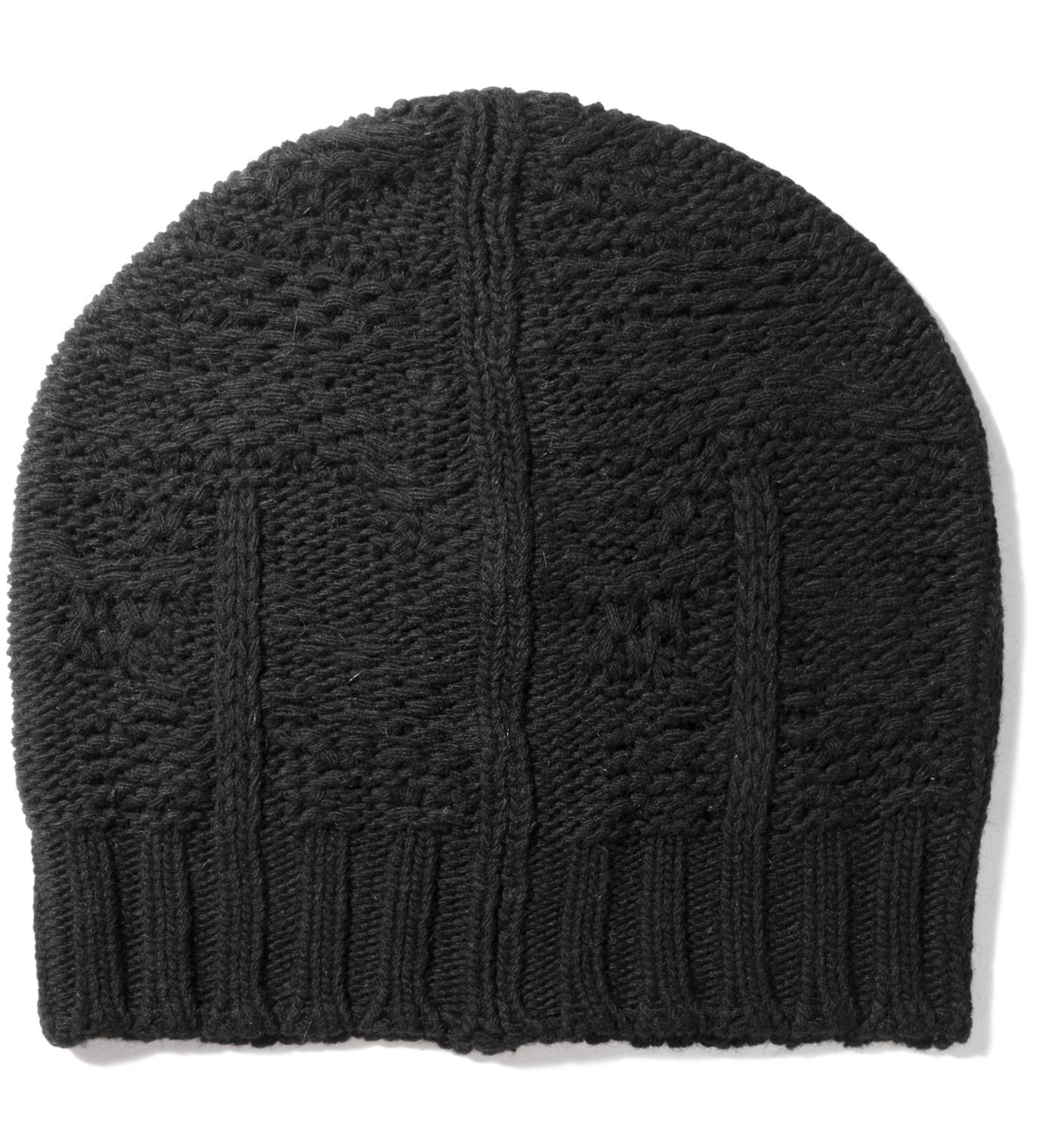 SILENT DAMIR DOMA Black Kali Knit Beanie