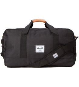 Herschel Supply Co. Black Outfitter Travel Bag Picture