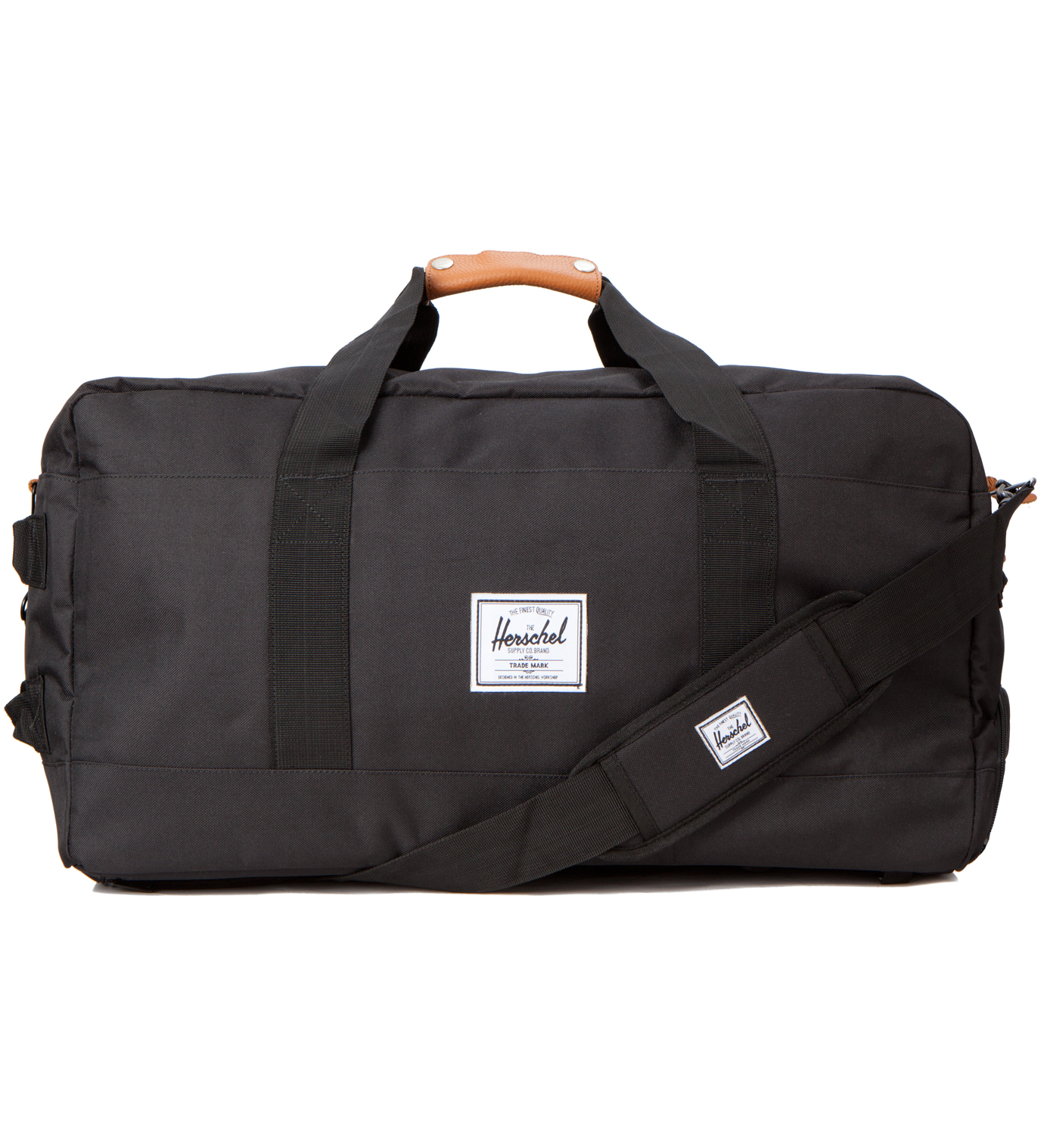 Herschel Supply Co. Black Outfitter Travel Bag