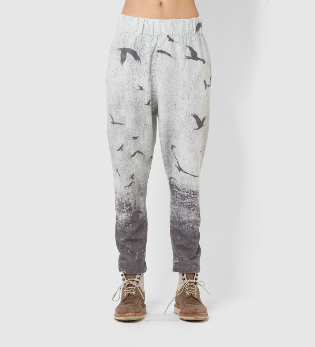 Tourne de Transmission White Blackbird Sweat Pants