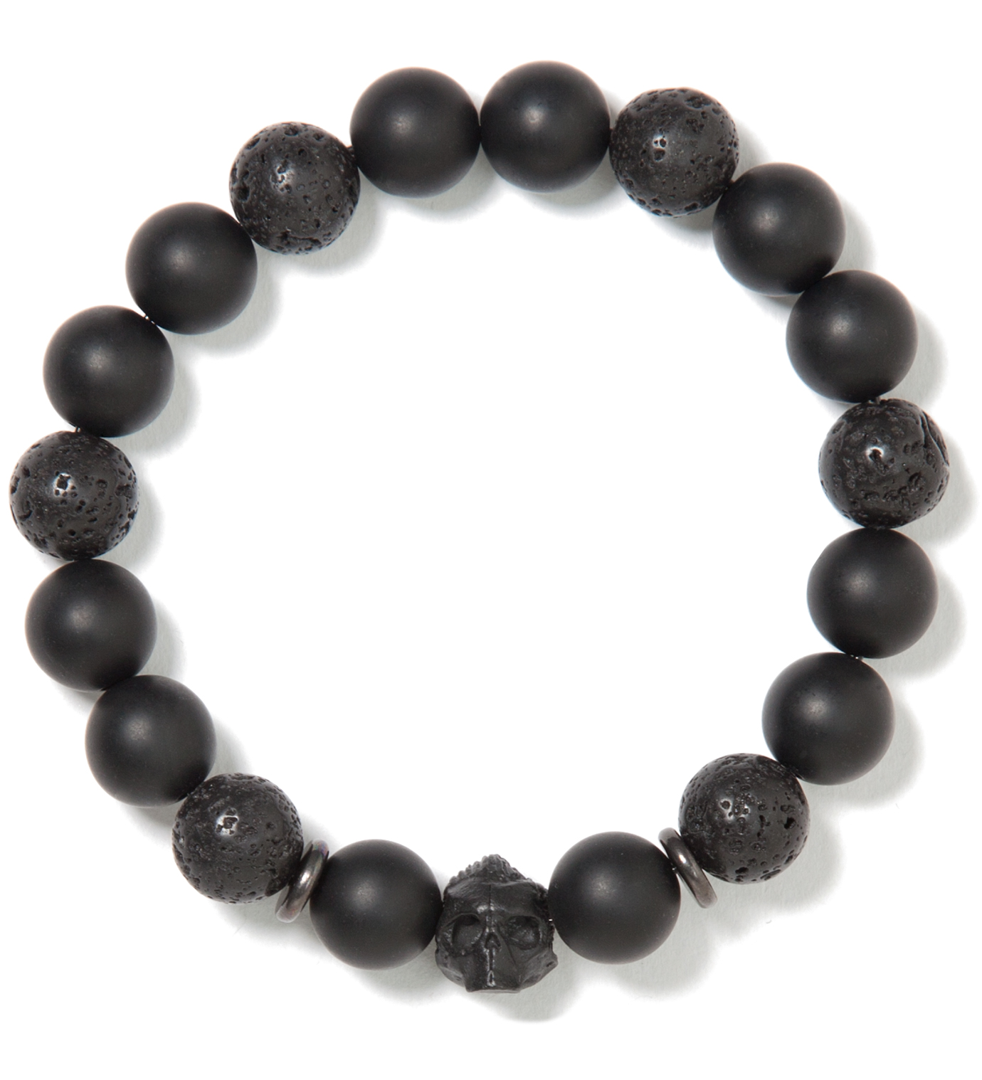 Mister Black and Black DS- Beaded Bracelet