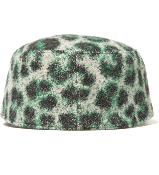 FACETASM Green Leopard Work Cap