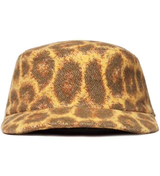 FACETASM Yellow Leopard Work Cap