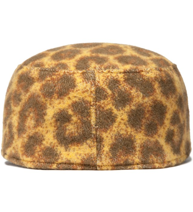 FACETASM Yellow Leopard Work Cap