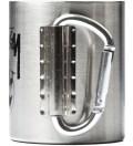 Stussy Silver Outdoor Man Carabiner Mug