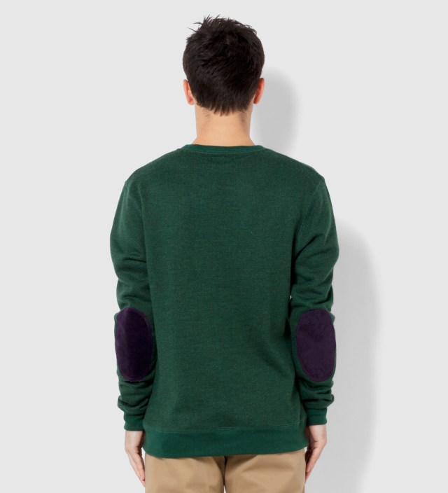 BWGH Green and Burgundy Brooklyn Parle Francais Sweater