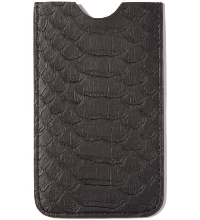 Mister Stevin Gold x Mister Black Snakeskin Iphone Case