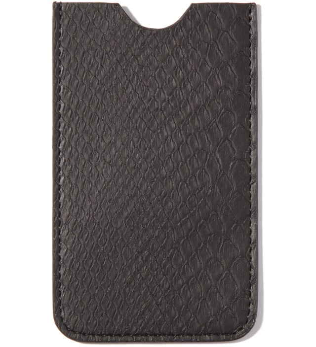 Mister Stevin Gold x Mister Black Snakeskin Iphone Case