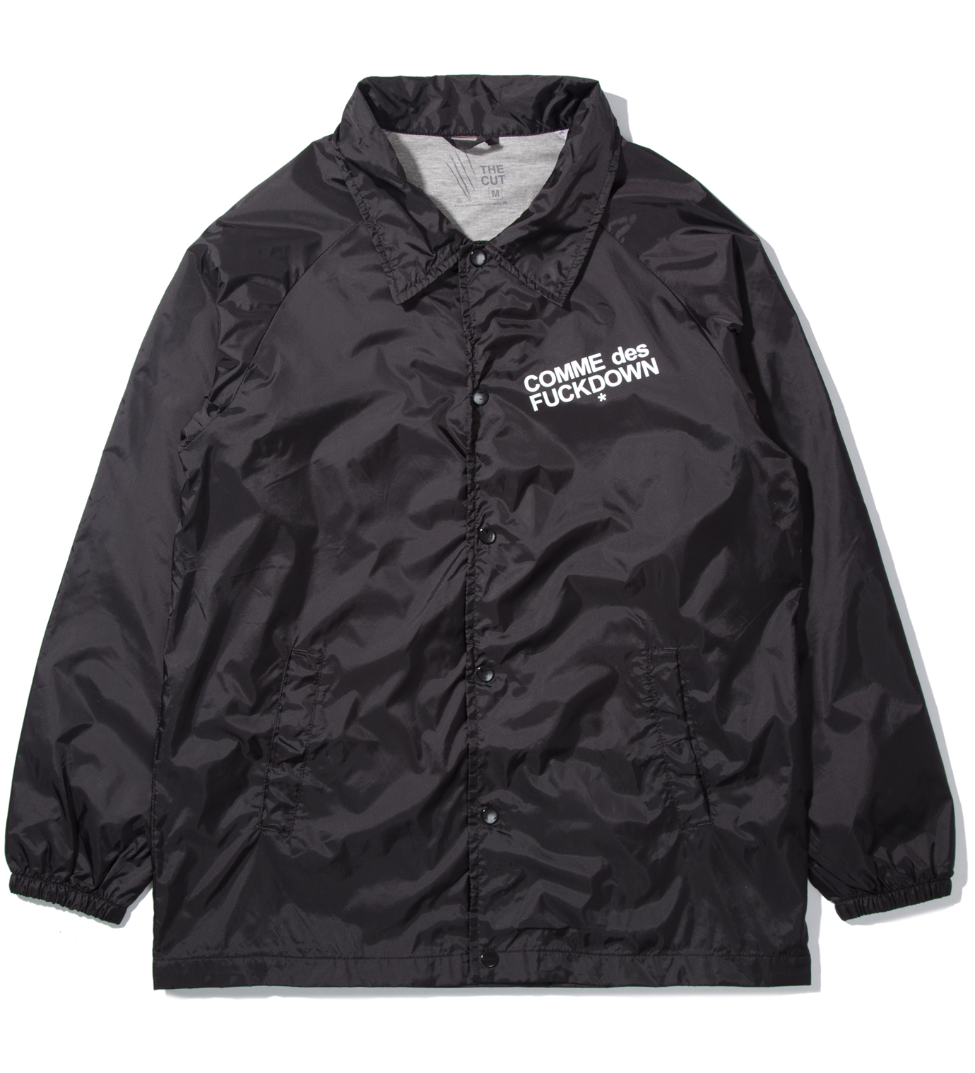 SSUR Black Comme Des Fuckdown Jacket