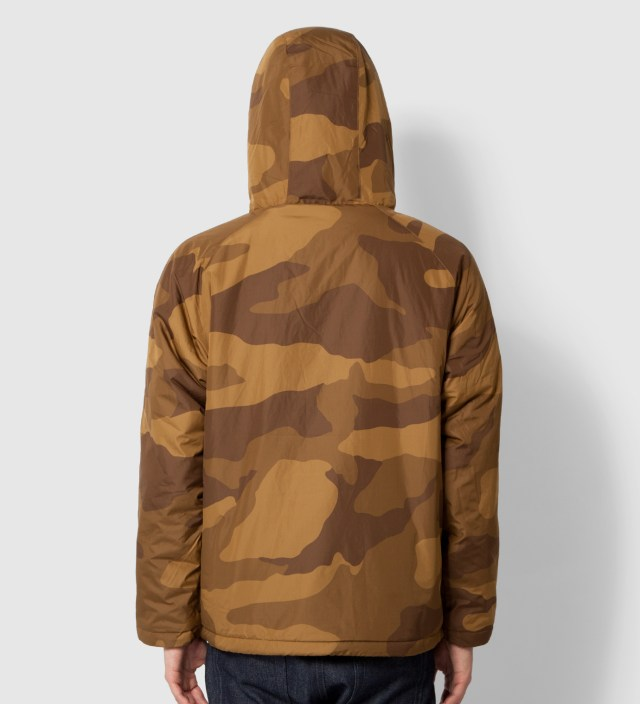 Stussy Khaki Camo Force Pullover