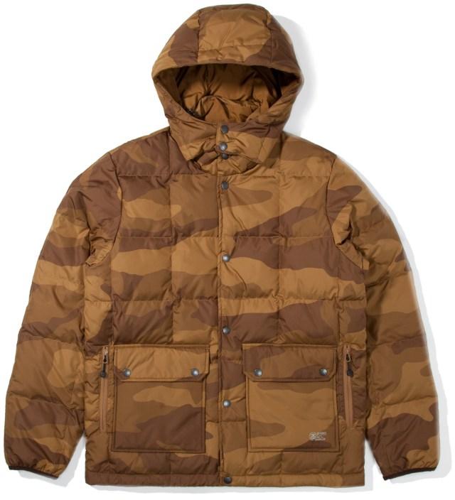 Stussy Khaki Camo Force Jacket