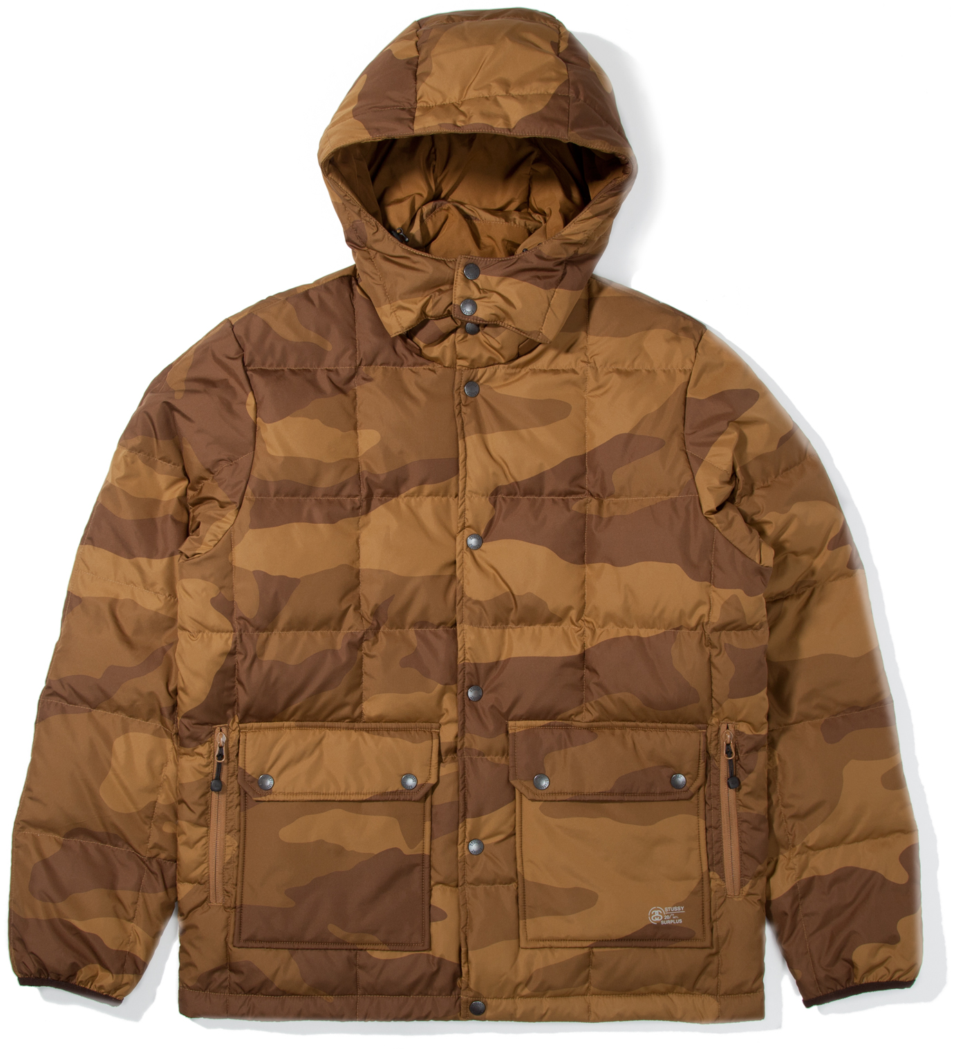 Stussy Khaki Camo Force Jacket