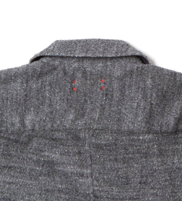 CASH CA Charcoal Pile Jacket