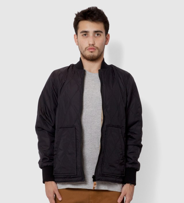 Stussy Black Northern Reversible Jacket
