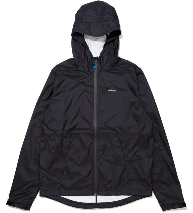 Stussy Black Pinnacle Tech Hood Jacket