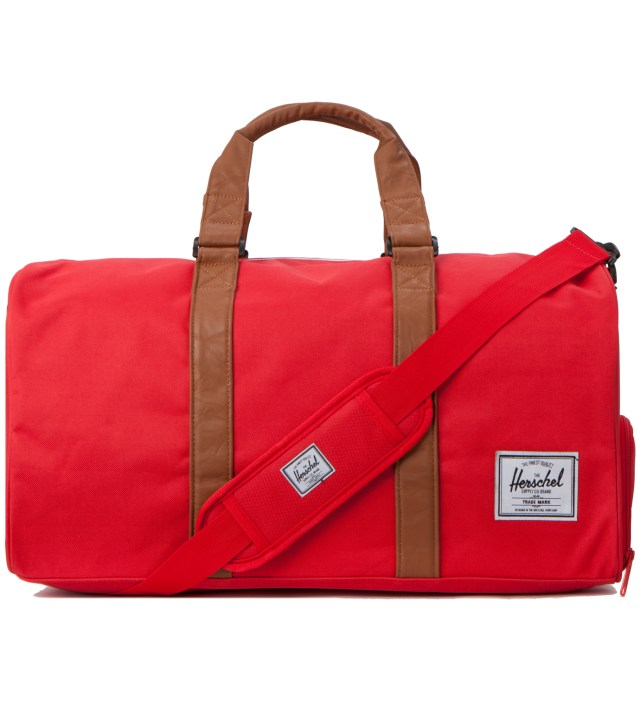 Herschel Supply Co. Red/Tan Novel Bag