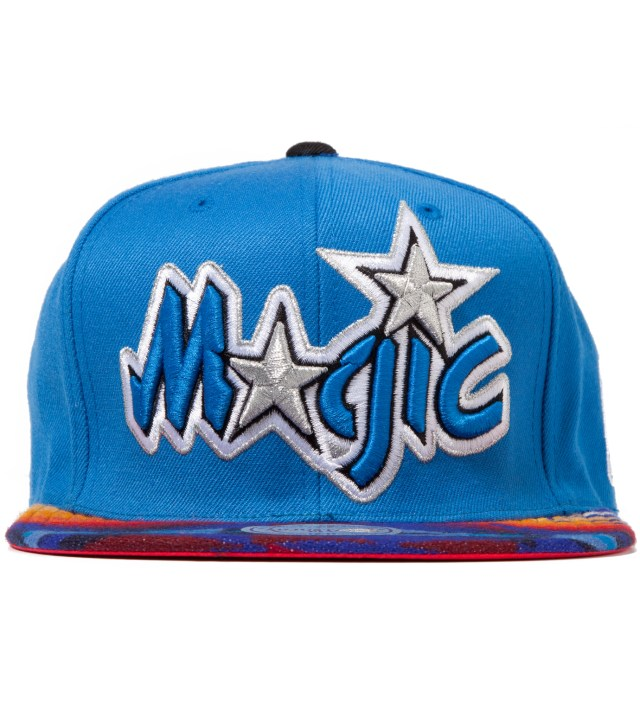 The Genesis Project Orlando Magic Blue Navajo Strap-Back Cap
