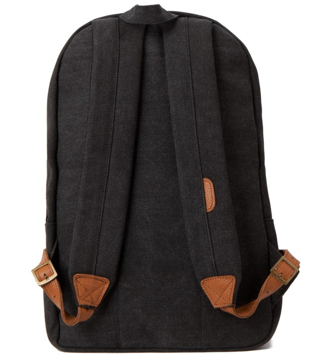 Herschel Supply Co. Heavy Canvas Black Woodlands Backpack