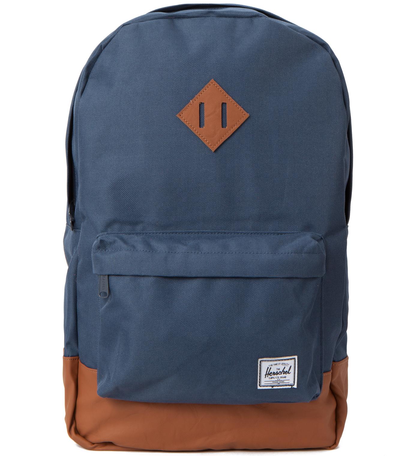 Herschel Supply Co. Navy/Tan Heritage Backpack