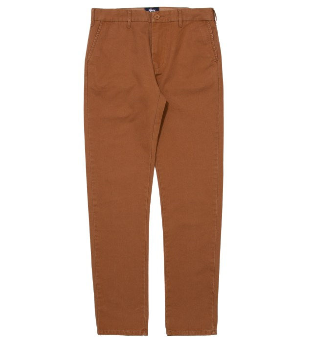 Stussy Brown Washed Ralph Chino