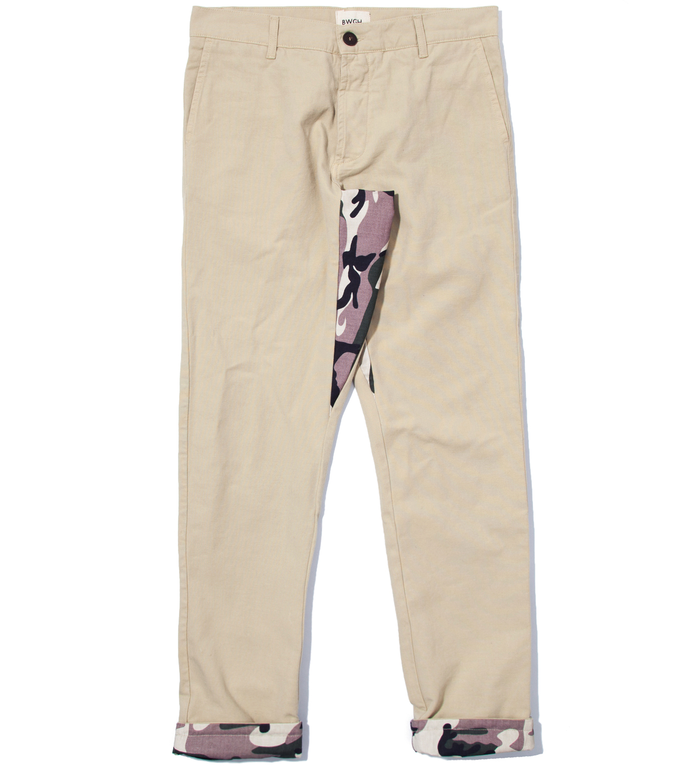 BWGH Beige and Camo Timba Pants