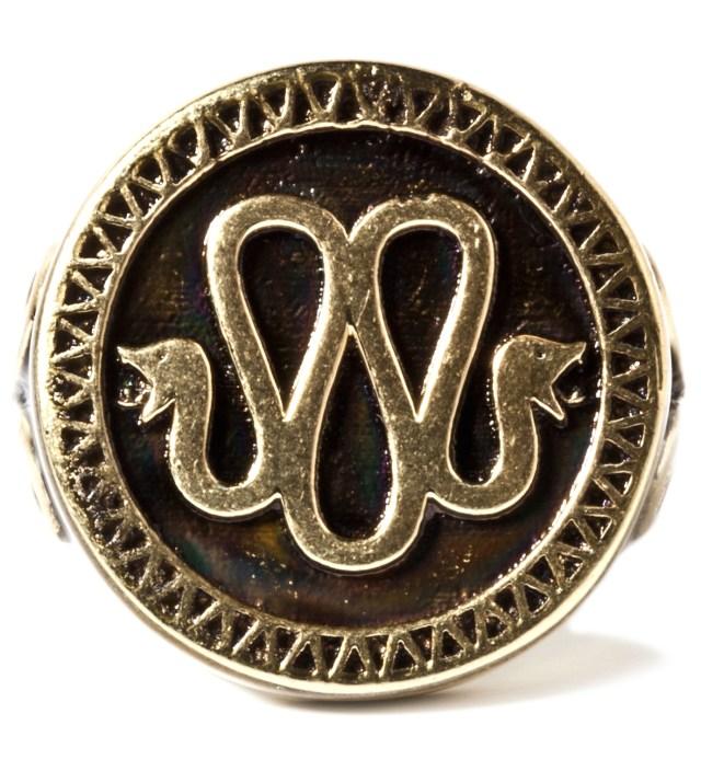 Mister Stevin Gold x Mister Gold Snake Ring