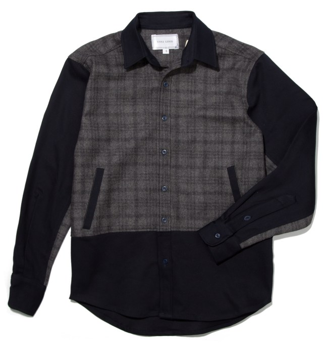 Still Good Navy and Grey Antithese Shirt