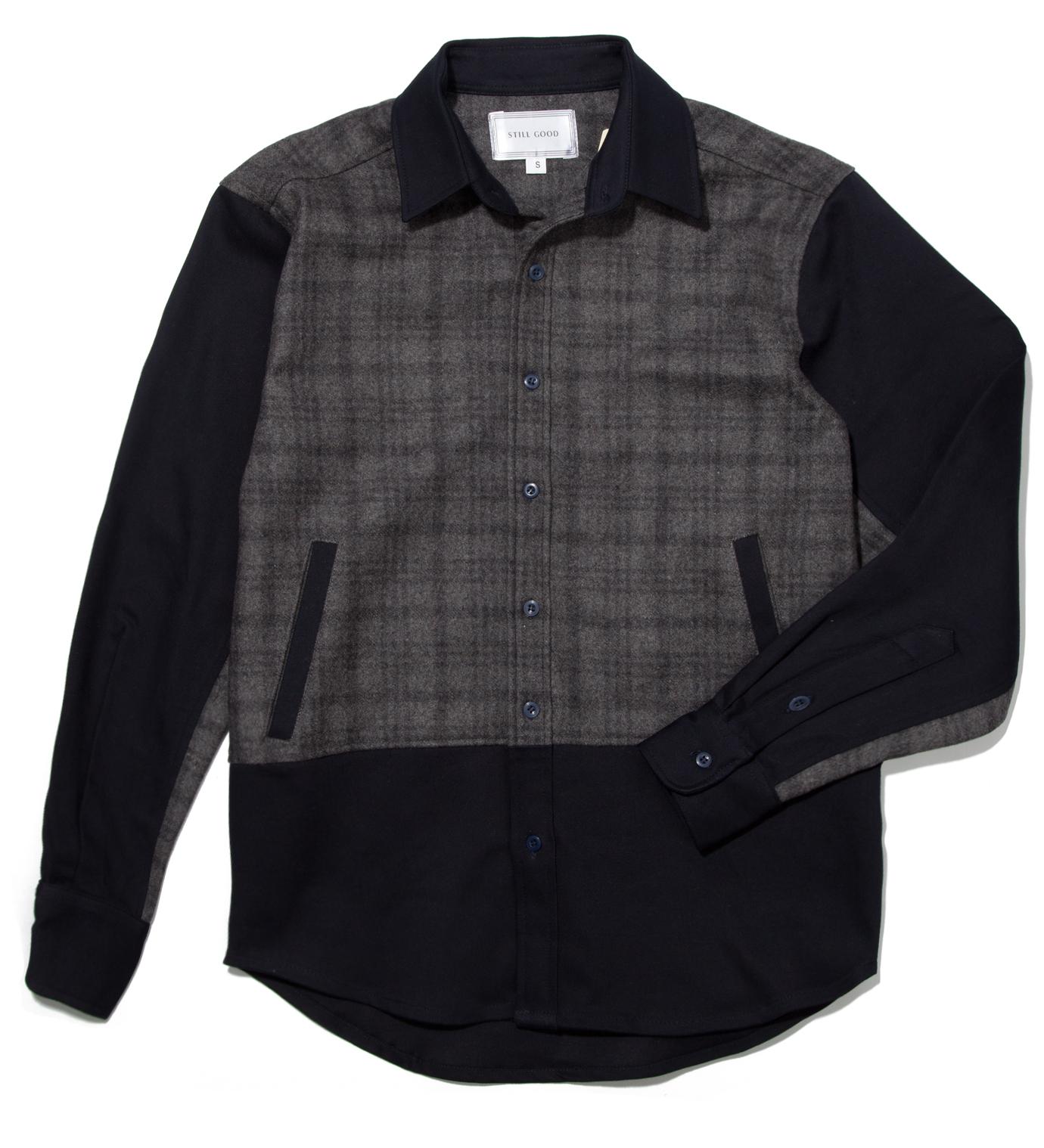Still Good Navy and Grey Antithese Shirt