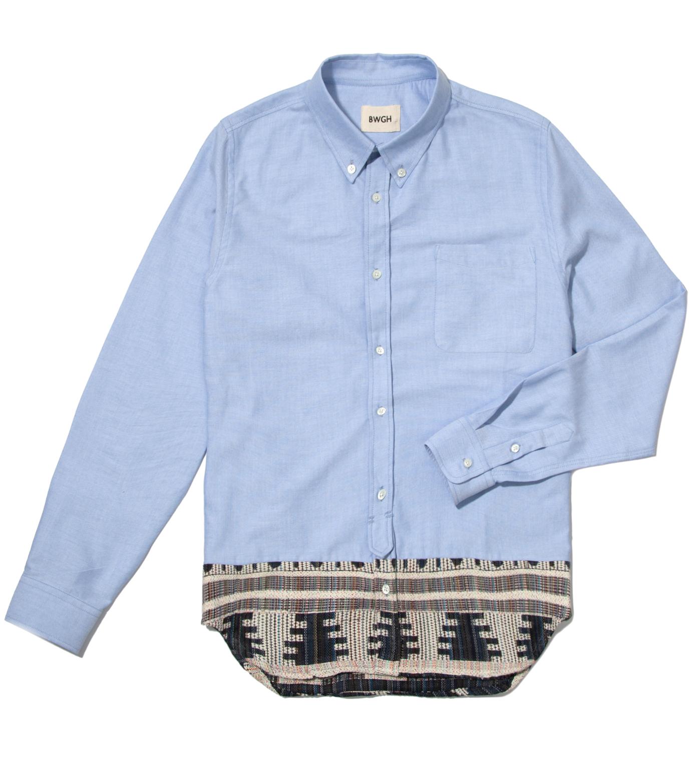 BWGH Blue Fulani Shirt