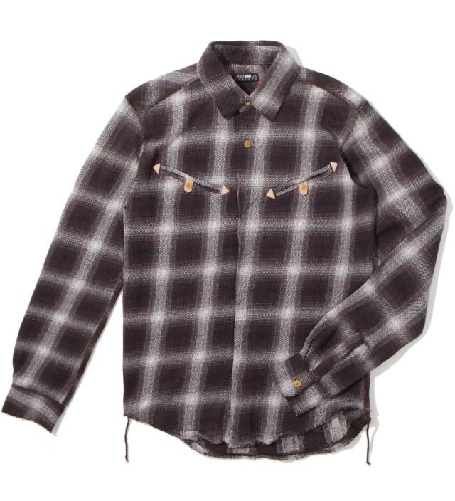 CASH CA Jaquared Western Shirt