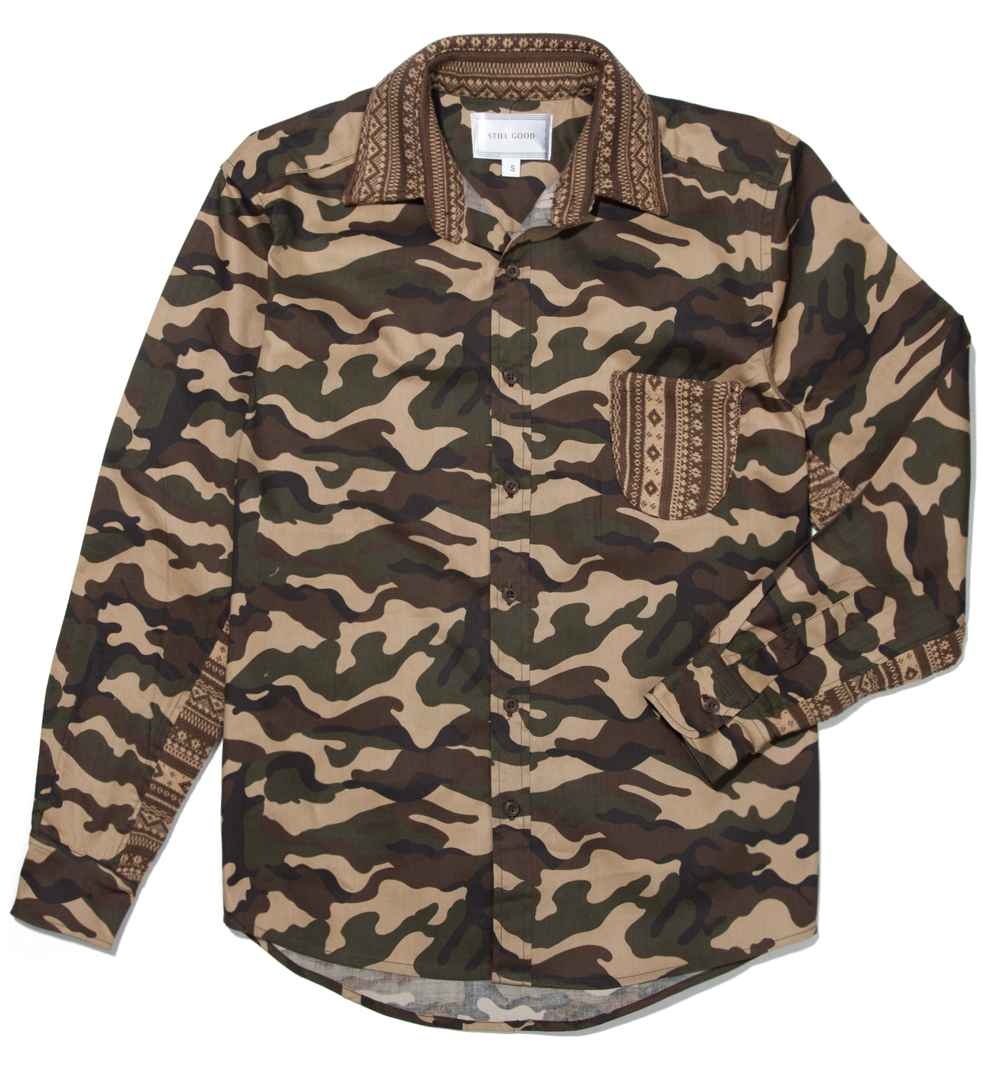 Still Good Camo Print Tomorrow Shirt