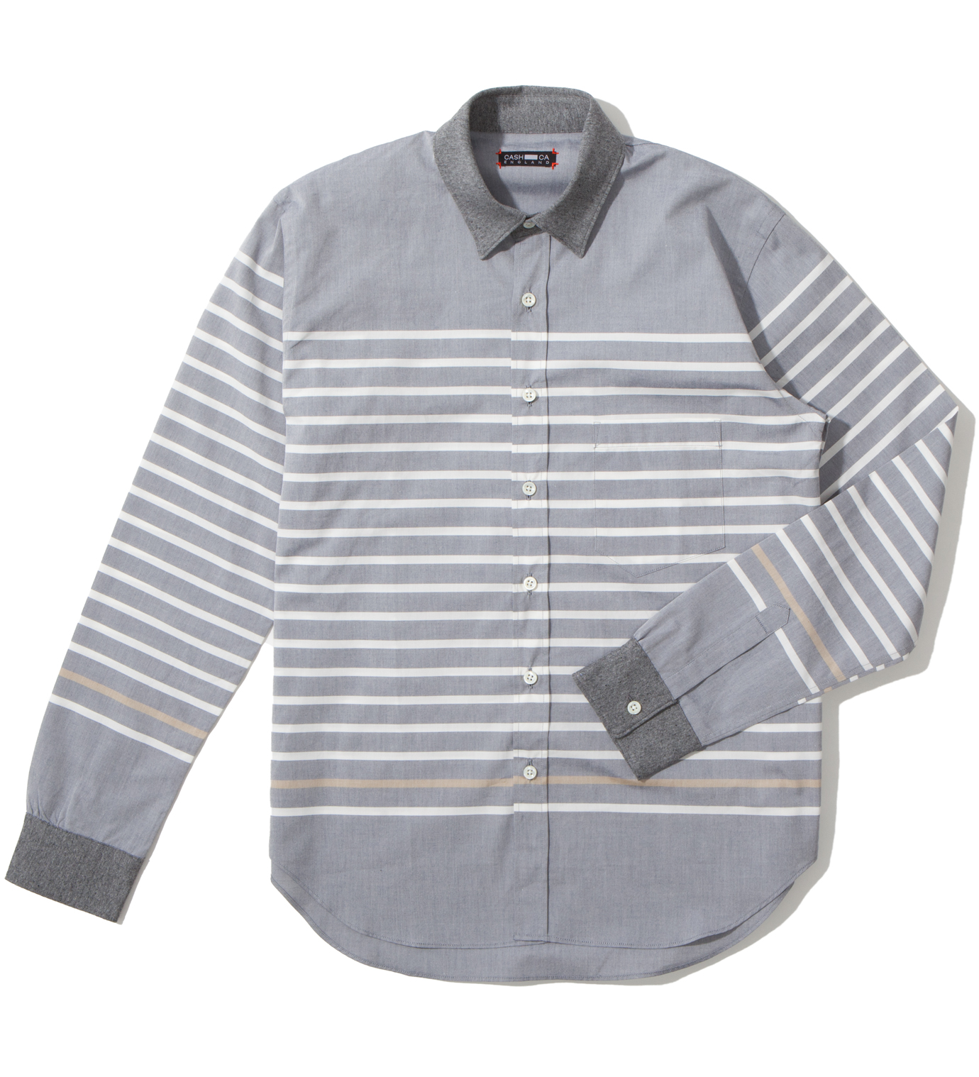 CASH CA Navy Matelot Shirt