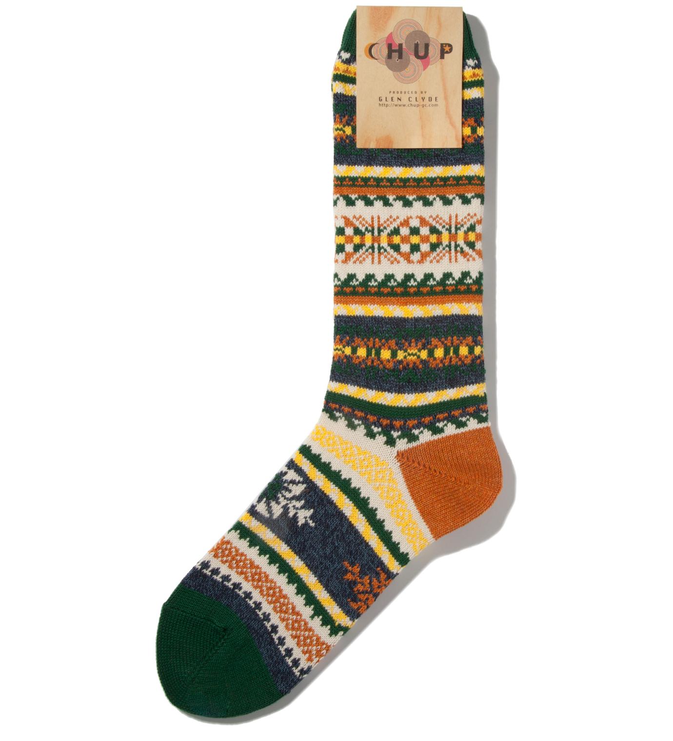 CHUP Green Loimi Socks