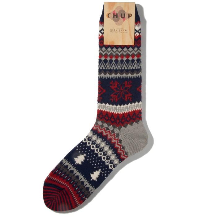 CHUP Navy Qanik Socks