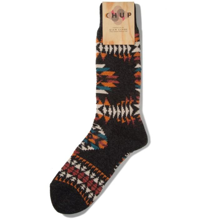 CHUP Charcoal Serape Socks