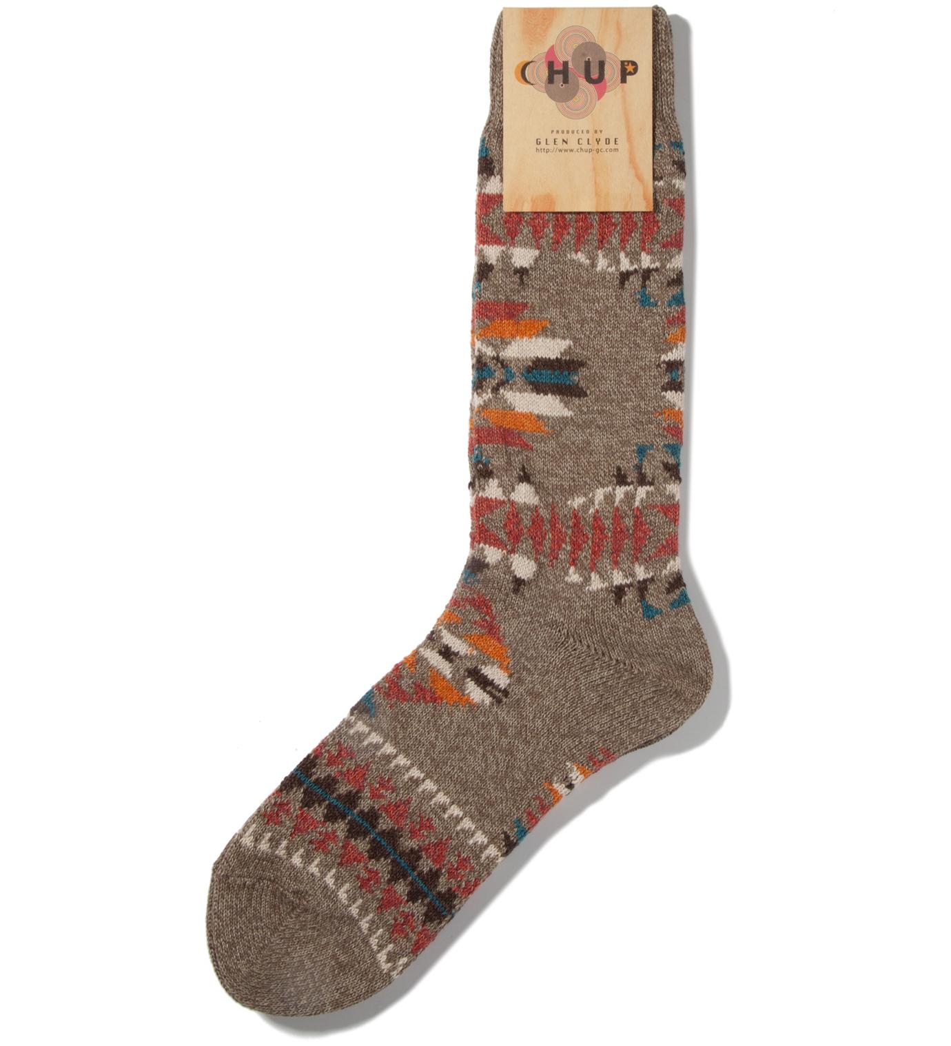 CHUP Moss Serape Socks
